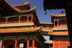Gyeongbok -gyeongbok-kung Tempel, Seoel, Korea Royalty-vrije Stock Afbeeldingen