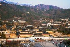 Gyeongbok palace, Gyeongbokgung, Seoul, South Korea Stock Photos