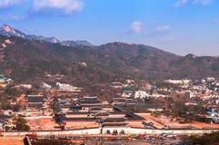 Gyeongbok palace, Gyeongbokgung, Seoul, South Korea Stock Photography