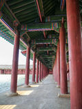 Gyeongbok Palace. In Seoul, Korea Royalty Free Stock Images