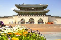 Gyeongbok Palace, Seoul, Korea Stock Photos