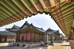 Gyeongbok Palace, Seoul, Korea Royalty Free Stock Photo
