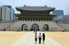 Gyeongbok Palace, Seoul, Korean Republic Royalty Free Stock Photos
