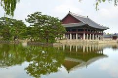 Gyeongbok Palace, Seoul, Korean Republic Stock Photo