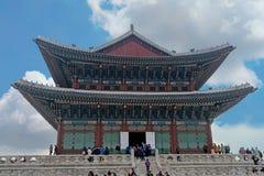 Gyeongbok-Palast Südkorea Lizenzfreie Stockfotos