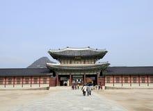 Gyeongbok slott Royaltyfri Foto