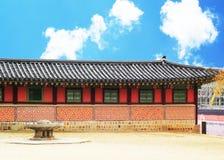Gyeongbok slott i Sydkorea Fotografering för Bildbyråer