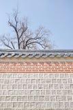 Gyeongbokgung宫殿在汉城,韩国 免版税图库摄影
