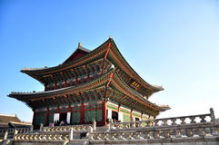 gyeongbokgung宫殿 免版税图库摄影