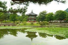 Gyeongbokgung à Séoul images stock
