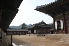 gyeongbokgung παλάτι εσωτερικών στοκ εικόνα