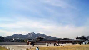 gyeongbokgung παλάτι Σεούλ Στοκ Εικόνες
