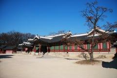 gyeongbokgung Royaltyfri Fotografi