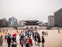 Gyeongbokgung imagen de archivo libre de regalías