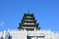Gyeongbokgung Palace Seoul South Korea royalty free stock photo