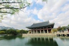 Gyeongbokgung Gyeonghoeru Pavilion, Seoul, Korea Royalty Free Stock Images