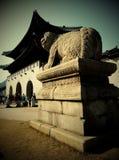 gyeongbokgung pałac królewski Zdjęcia Royalty Free