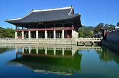 Gyeongbokgung palace Royalty Free Stock Images
