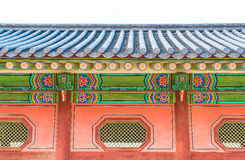 Gyeongbokgung Palace Beautiful Traditional Architecture in Seoul Royalty Free Stock Images