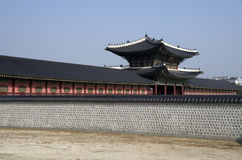 Gyeongbokgung Palace buildings Royalty Free Stock Images