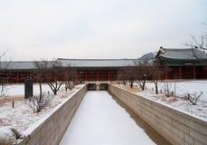 Gyeongbokgung Palace Royalty Free Stock Photo
