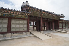 Gyeongbokgung, or the Palace of Felicitous Blessing Stock Photo