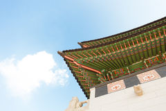 Gyeongbokgung palace gate at day time - Seoul, Republic of Korea Royalty Free Stock Image
