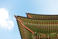 Gyeongbokgung palace gate shot at day time - Seoul, Republic of Stock Photography