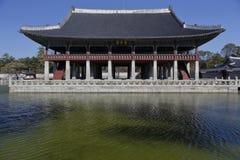 Gyeongbokgung Palace, Grand Palce Seoul, South Korea, Asia - shot November 2013 Royalty Free Stock Photos