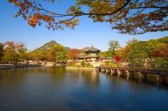 Gyeongbokgung palace grounds Royalty Free Stock Image