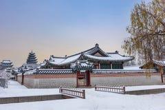 Free Gyeongbokgung Palace In Winter Stock Photos - 133603043