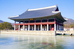 Gyeongbokgung Palace, Korea Royalty Free Stock Image