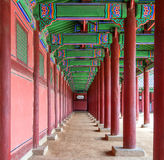 Gyeongbokgung Palace in Korea. royalty free stock image