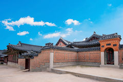Gyeongbokgung Palace in Korea. Stock Images