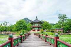 Gyeongbokgung Palace in Korea. Gyeongbokgung Palace in South Korea stock photos