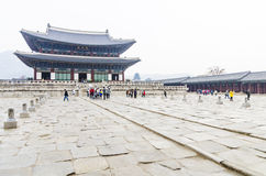 Gyeongbokgung Palace, Korea Stock Photos