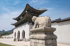 Gyeongbokgung Royalty Free Stock Photo