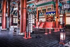 Gyeongbokgung Palace - Main royal palace of the Joseon dynasty royalty free stock photos