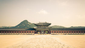 Gyeongbokgung Palace Royalty Free Stock Photo