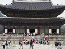 Gyeongbokgung Palace. Is one of the most popular attractions in Seoul, South Korea Stock Photo