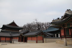 Gyeongbokgung Palace The Palace of Shining Blessings Royalty Free Stock Photo