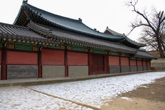 Gyeongbokgung Palace The Palace of Shining Blessings Stock Photography