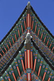 Gyeongbokgung Palace, Palace of Shining Happiness, Seoul, South Korea, Asia - shot November 2013 Stock Photography