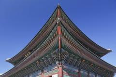 Gyeongbokgung Palace, Palace of Shining Happiness, Seoul, South Korea, Asia - shot November 2013 Stock Photos