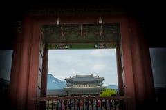 Gyeongbokgung palace Royalty Free Stock Photography