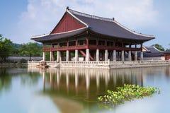 Gyeongbokgung Palace, Seoul. Gyeonghoeru Pavilion of Gyeongbokgung Palace, Seoul, South Korea Royalty Free Stock Photos