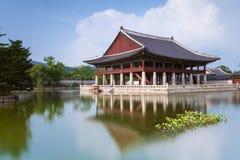 Gyeongbokgung Palace, Seoul. Gyeonghoeru Pavilion of Gyeongbokgung Palace, Seoul, South Korea stock images