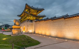 Gyeongbokgung Palace in seoul,Korea. Stock Photography