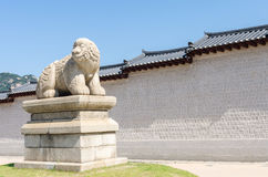 Gyeongbokgung Palace in Seoul ,Korea. Royalty Free Stock Images