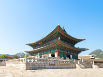 Gyeongbokgung palace in Seoul, Korea Stock Images